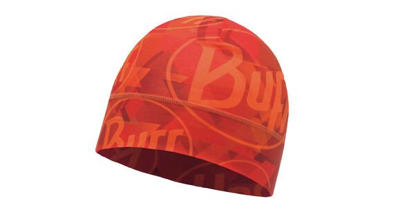 Buff Microfiber 1 Layer Tip Logo muts oranje